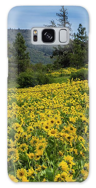 Blooming Fence Galaxy Case