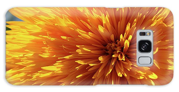Blooming Sunshine Galaxy Case by Marie Leslie