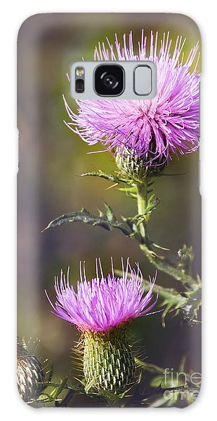 Blooming Thistle Galaxy Case