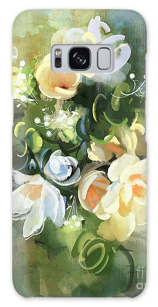 Blooming Galaxy Case