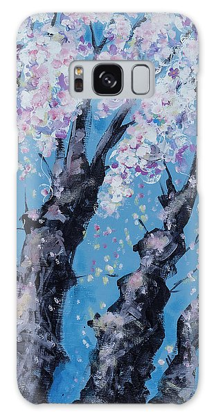 Blooming Trees Galaxy Case