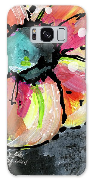 Blooming Wildflower- Art By Linda Woods Galaxy Case by Linda Woods