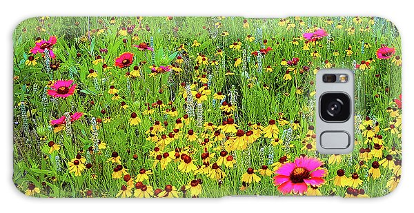 Blooming Wildflowers Galaxy Case
