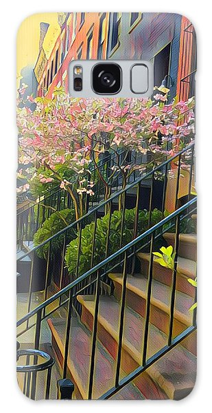 Blooms Of New York Galaxy Case