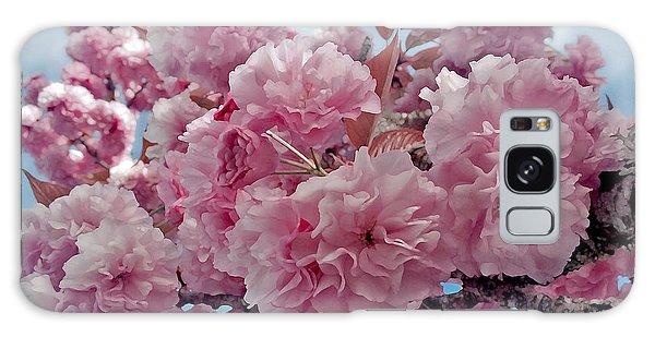 Blossom Bliss Galaxy Case by Gwyn Newcombe