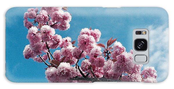 Blossom Impressions Galaxy Case by Gwyn Newcombe