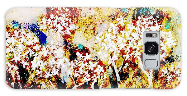 Galaxy Case featuring the painting Blossom Morning by Winsome Gunning