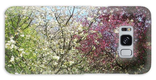 Blossom Trio Galaxy Case by Judith Desrosiers