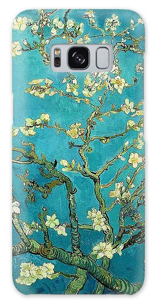 Galaxy Case featuring the painting Blossoming Almond Tree by Van Gogh