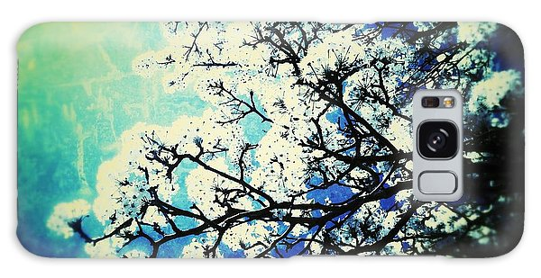 Blossoming Galaxy Case
