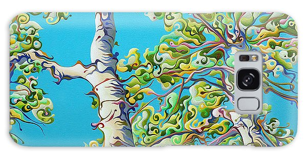 Blossoming Creativitree Galaxy Case