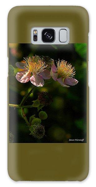 Blossoms 3 Galaxy Case by Steve Warnstaff