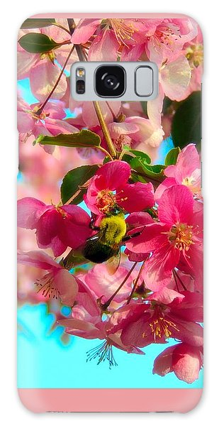 Blossoms And Bees Galaxy Case