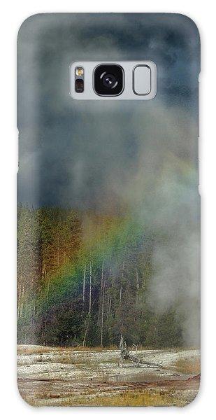 Blow Hole Rainbow Galaxy Case