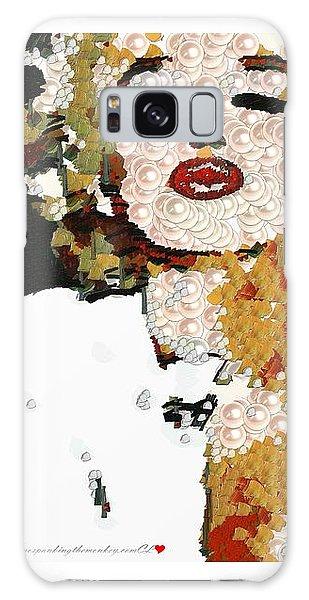 Blow Me A Kiss Marilyn Monroe In The Mix Galaxy Case