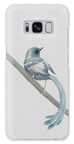 Bird Galaxy Case - Blue 2 by Diego Fernandez