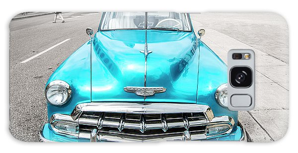 Galaxy Case featuring the photograph Blue 52 by Lou Novick