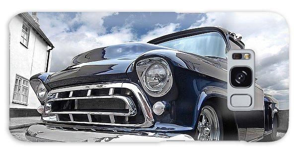 Blue 57 Stepside Chevy Galaxy Case