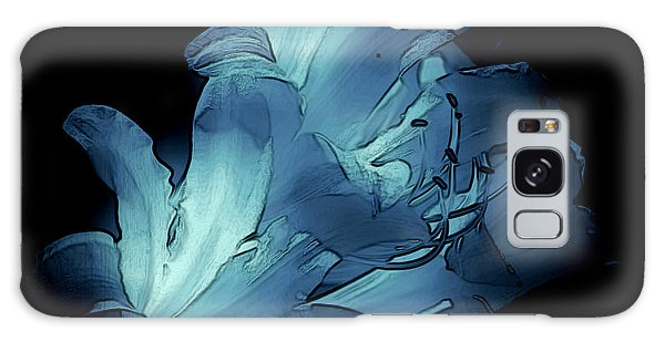 Blue Abstract No. 1 Galaxy Case