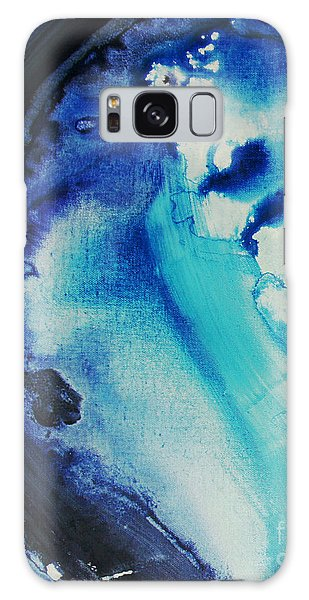 Blue Abstract Galaxy Case