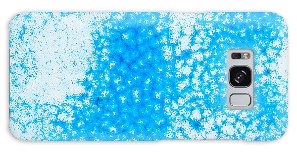 Mottled Galaxy Case - Blue Abstract by Tom Gowanlock