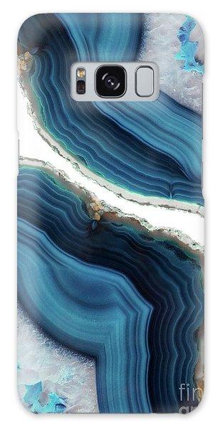 Blue Agate Galaxy Case