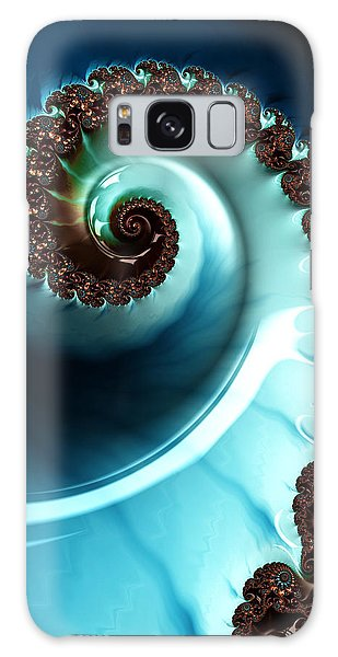 Blue Albania Galaxy Case