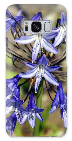 Blue Allium Galaxy Case by Robert Shard