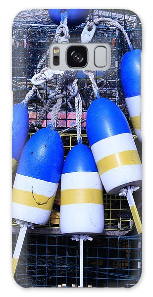 Blue And Gold Bouys Galaxy Case