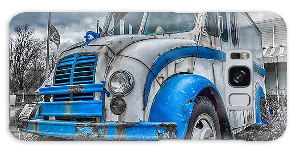 Blue And White Divco Galaxy Case by Guy Whiteley