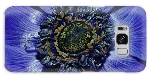 Blue Anemone Galaxy Case by Robert Shard