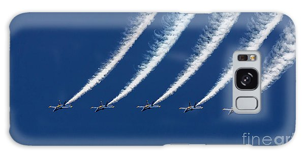 Blue Angels Formation Galaxy Case by John A Rodriguez