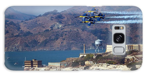Blue Angels Over Alcatraz Galaxy Case