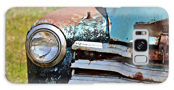 Blue Antique Chevy Grill- Fine Art Galaxy Case