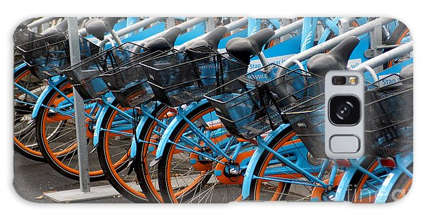 Blue Bikes Galaxy Case