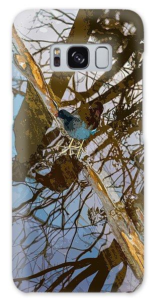 Blue Bird Galaxy Case by Josy Cue