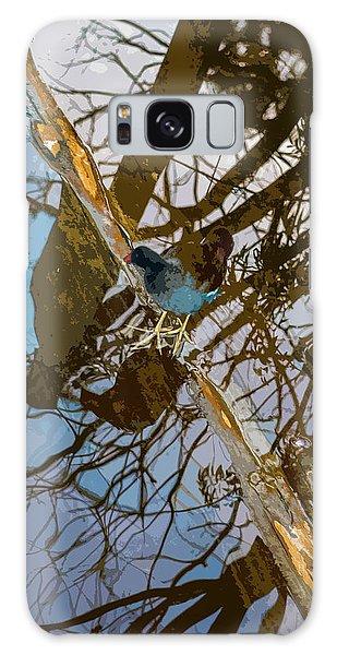 Blue Bird Galaxy Case