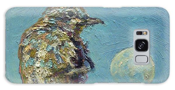 Blue Bird Moon Galaxy Case