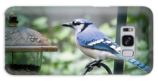 Blue Bird Of Happiness Galaxy Case