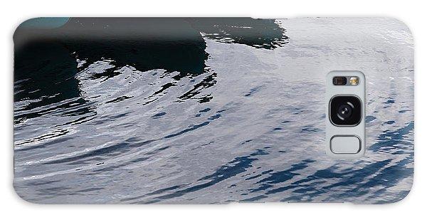 Blue Boat Galaxy Case