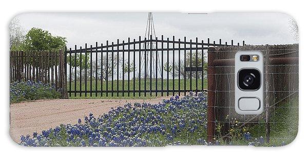 Blue Bonnets By Gate Galaxy Case