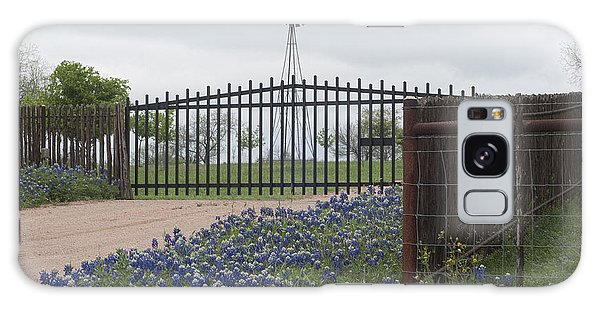 Blue Bonnets By Gate Galaxy Case