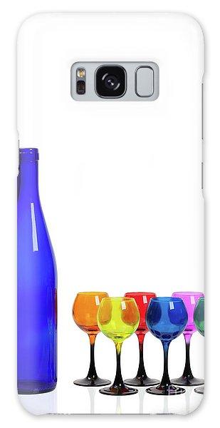 Blue Bottle #2429 Galaxy Case