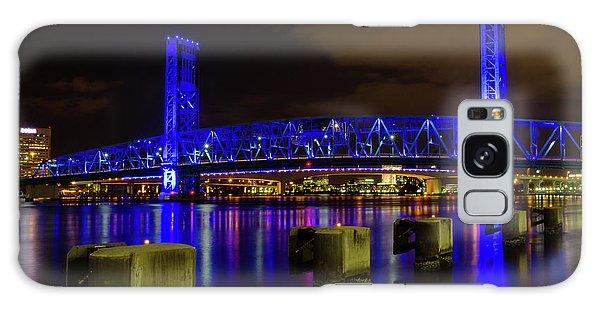 Blue Bridge 1 Galaxy Case