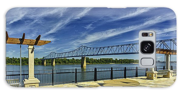 Blue Bridge And Smothers Park Galaxy Case