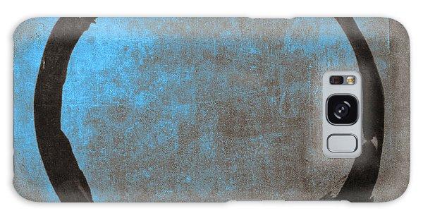 Blue Brown Enso Galaxy Case