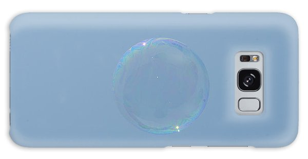 Blue Bubble Galaxy Case