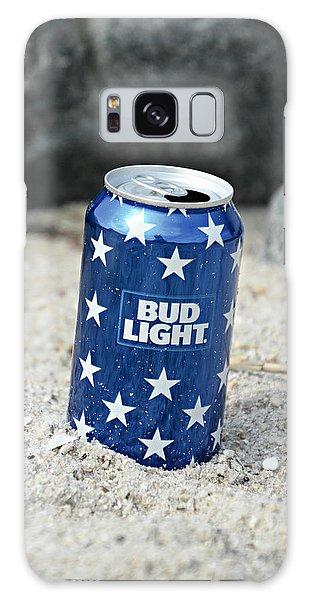 Blue Bud Light Galaxy Case
