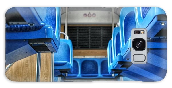 Blue Bus Seats Galaxy Case