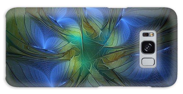 Blue Butterflies Galaxy Case